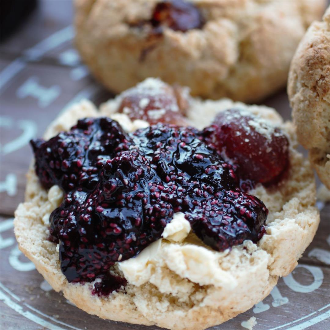Gluten Free Vegan Cherry Scones Recipe