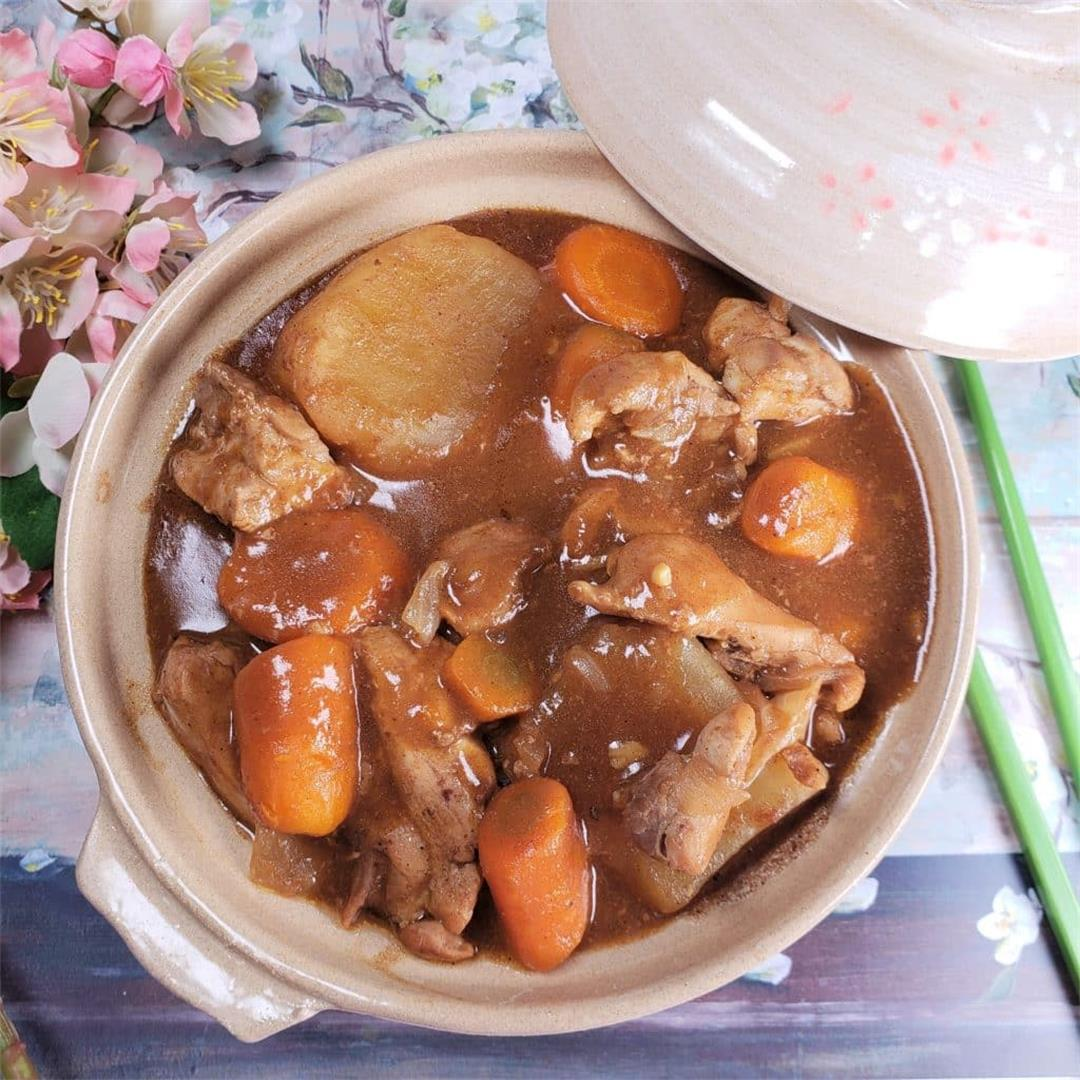 Instant Pot Pressure Cooker Japanese Chicken Curry