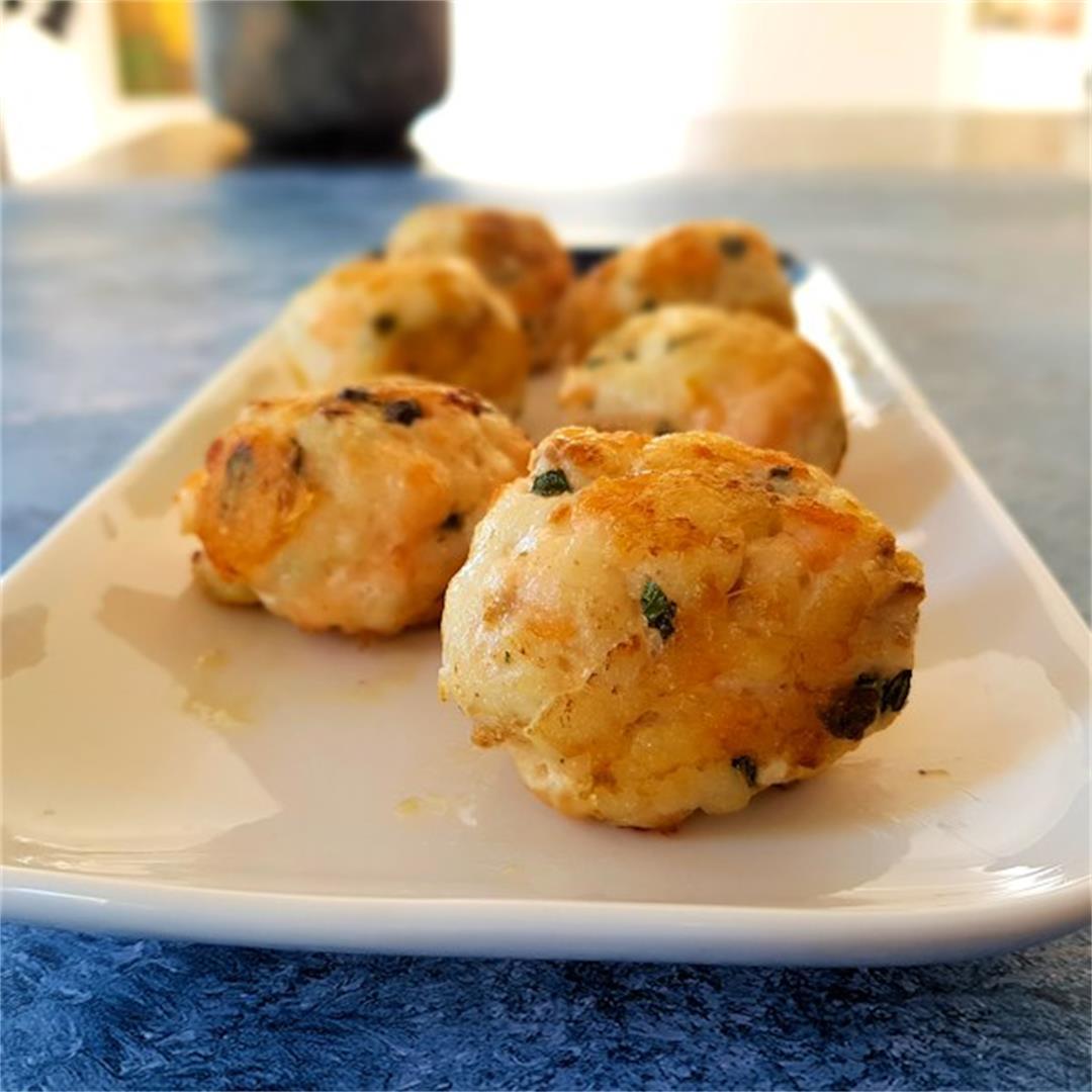 parmesan fish balls