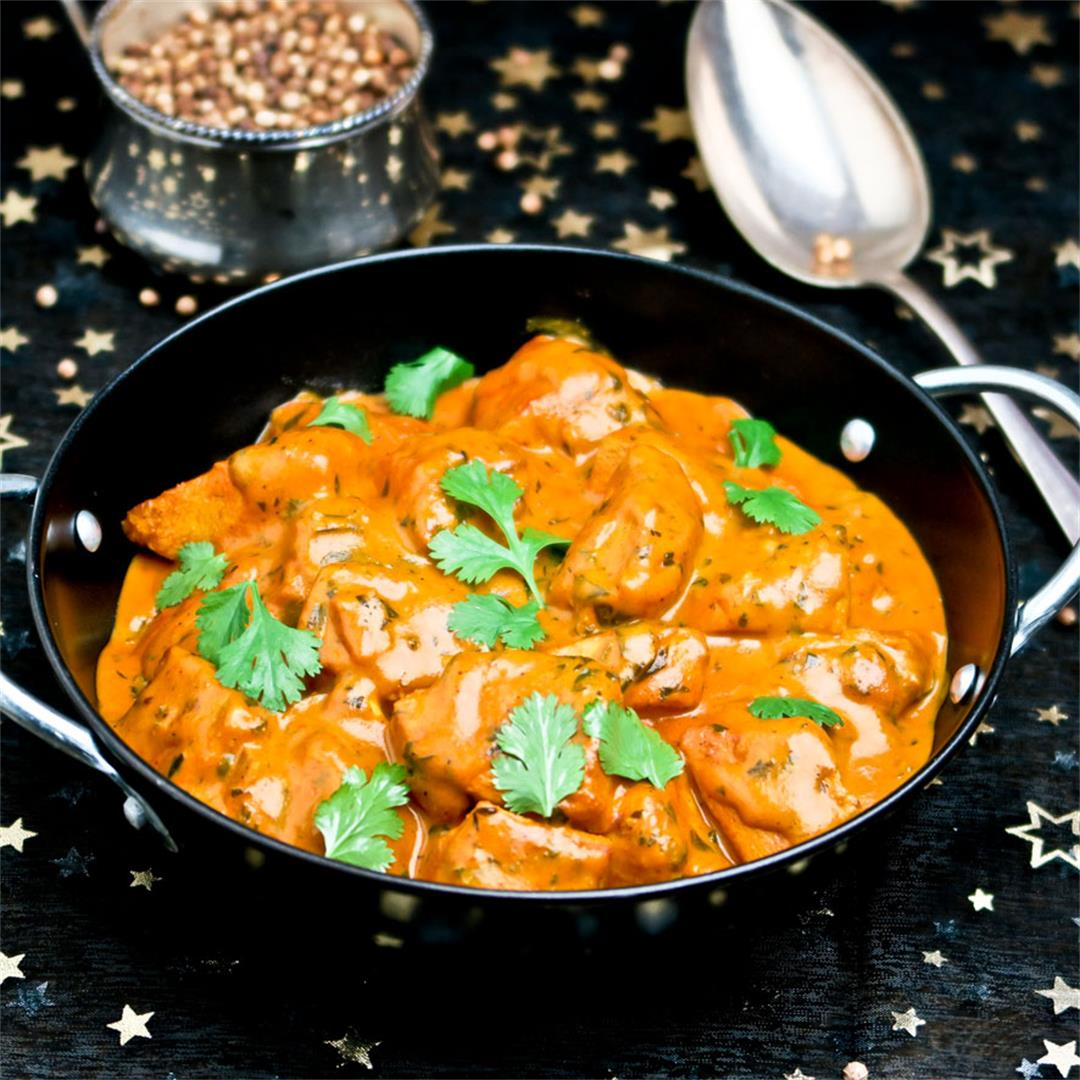 Murgh makhani or Indian butter chicken: a gorgeous creamy curry