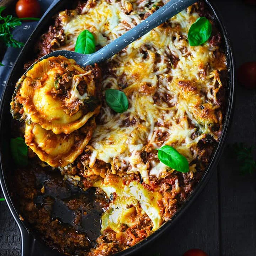 Easy Ravioli Lasagna - Delicious and Quick Meal