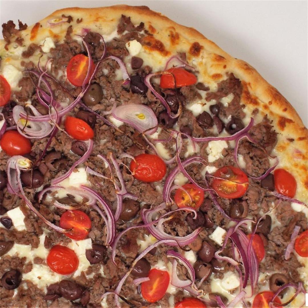 Beef Gyro Pizza