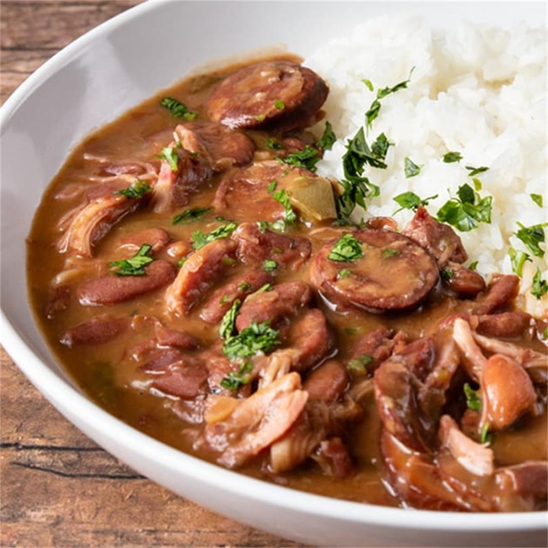 Easy Instant Pot Red Beans & Rice