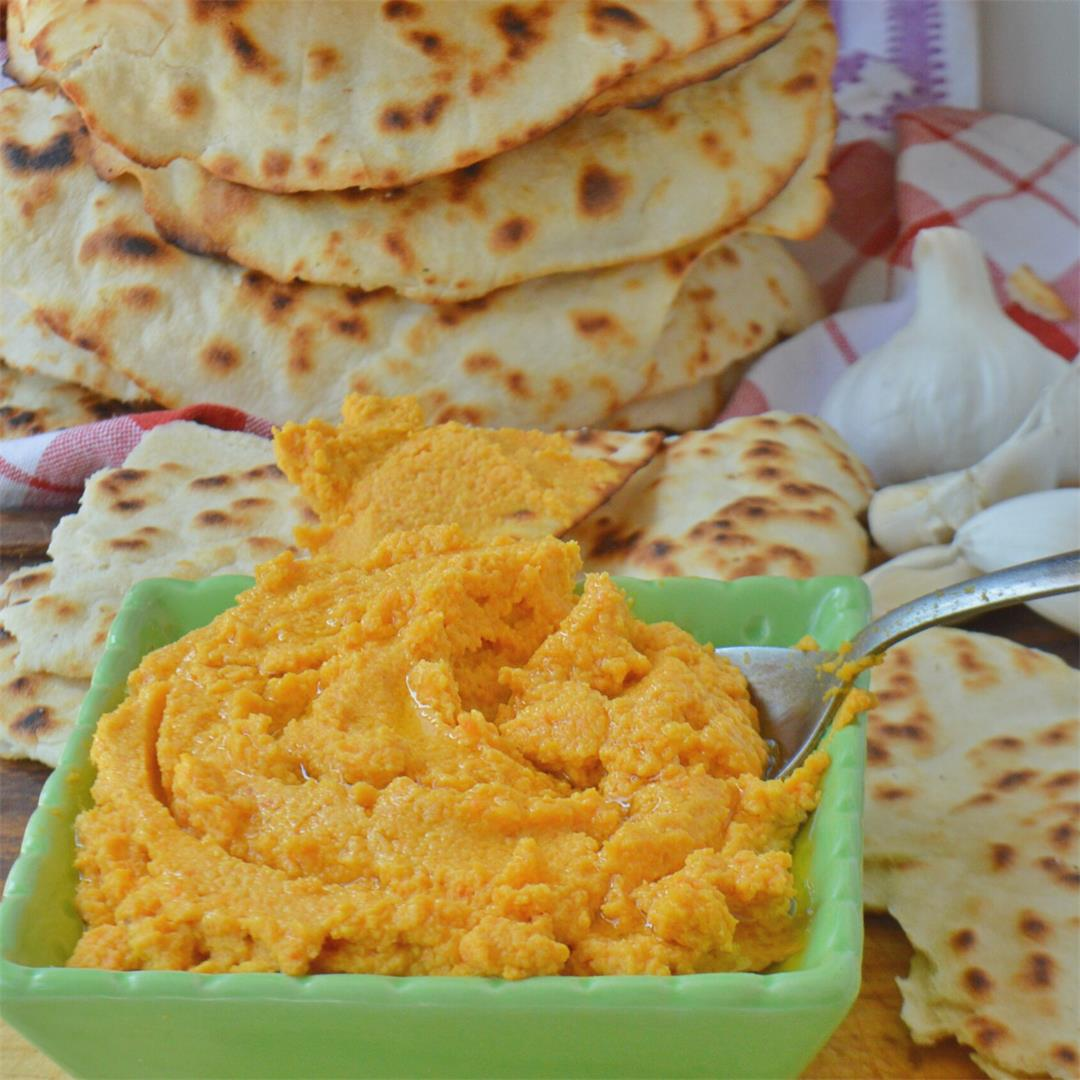 Roasted Carrot Hummus — Tasty Food for Busy Mums