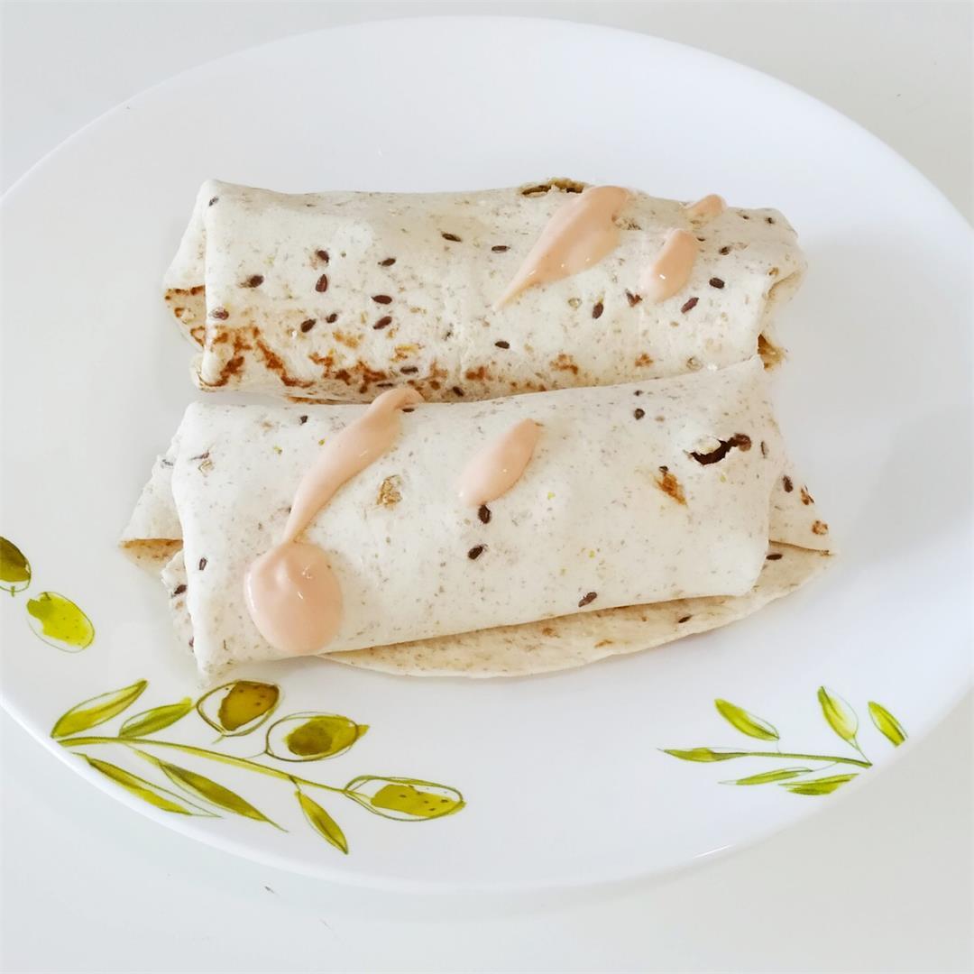 High Protein Breakfast Wraps