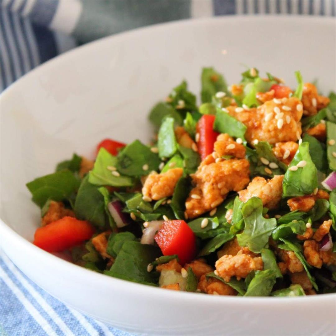 Honey Sriracha Turkey Salad