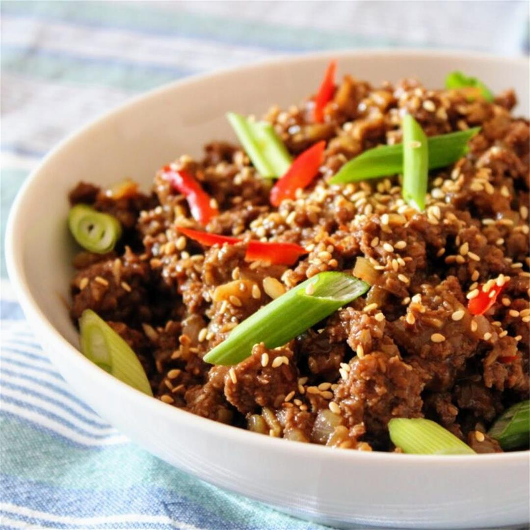 Sweet and Sticky Sesame Beef