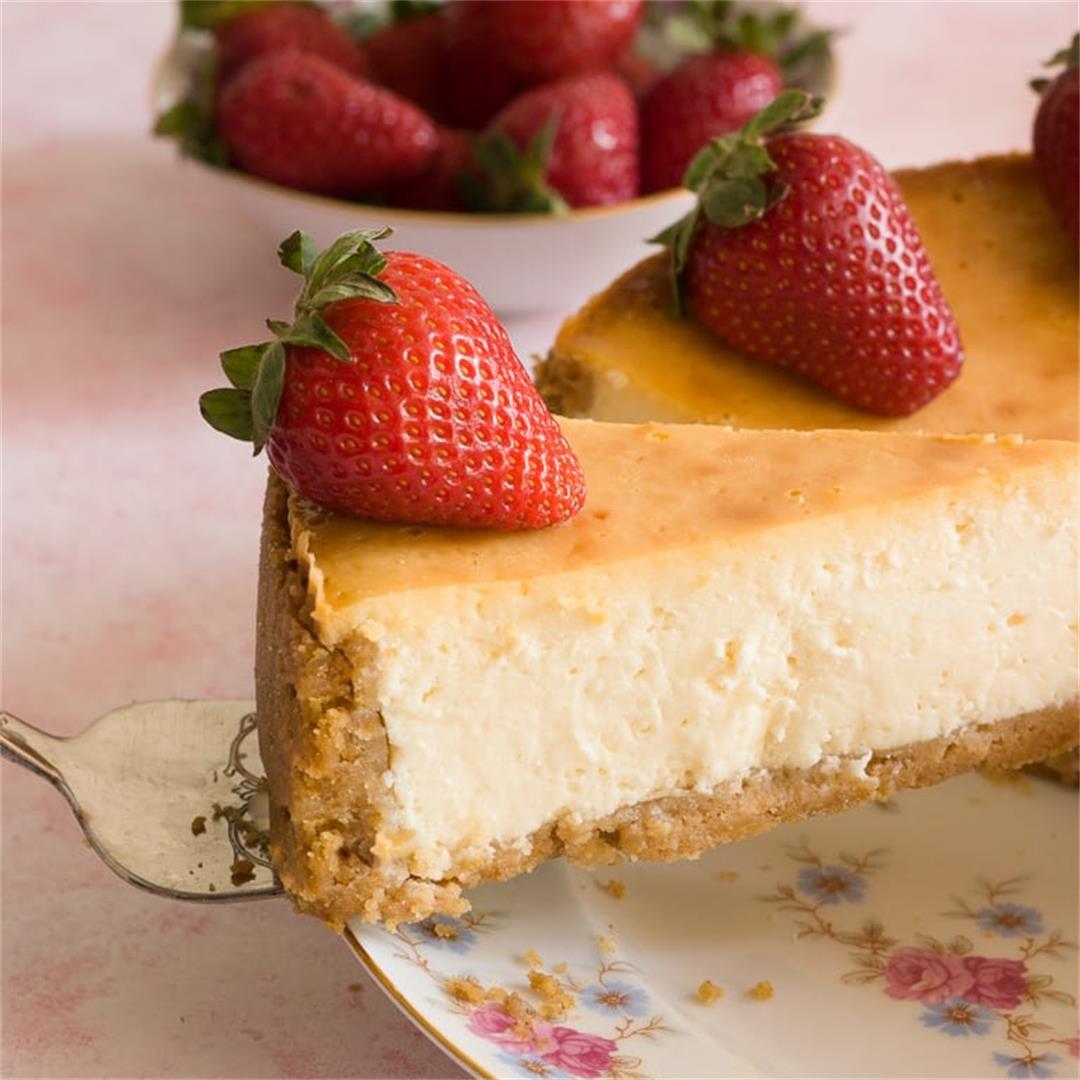 Creamy New York-style Cheesecake