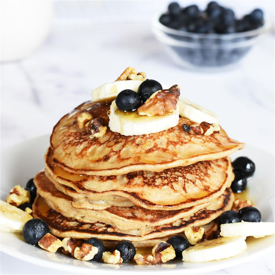 Banana Bread Pancakes Recipe