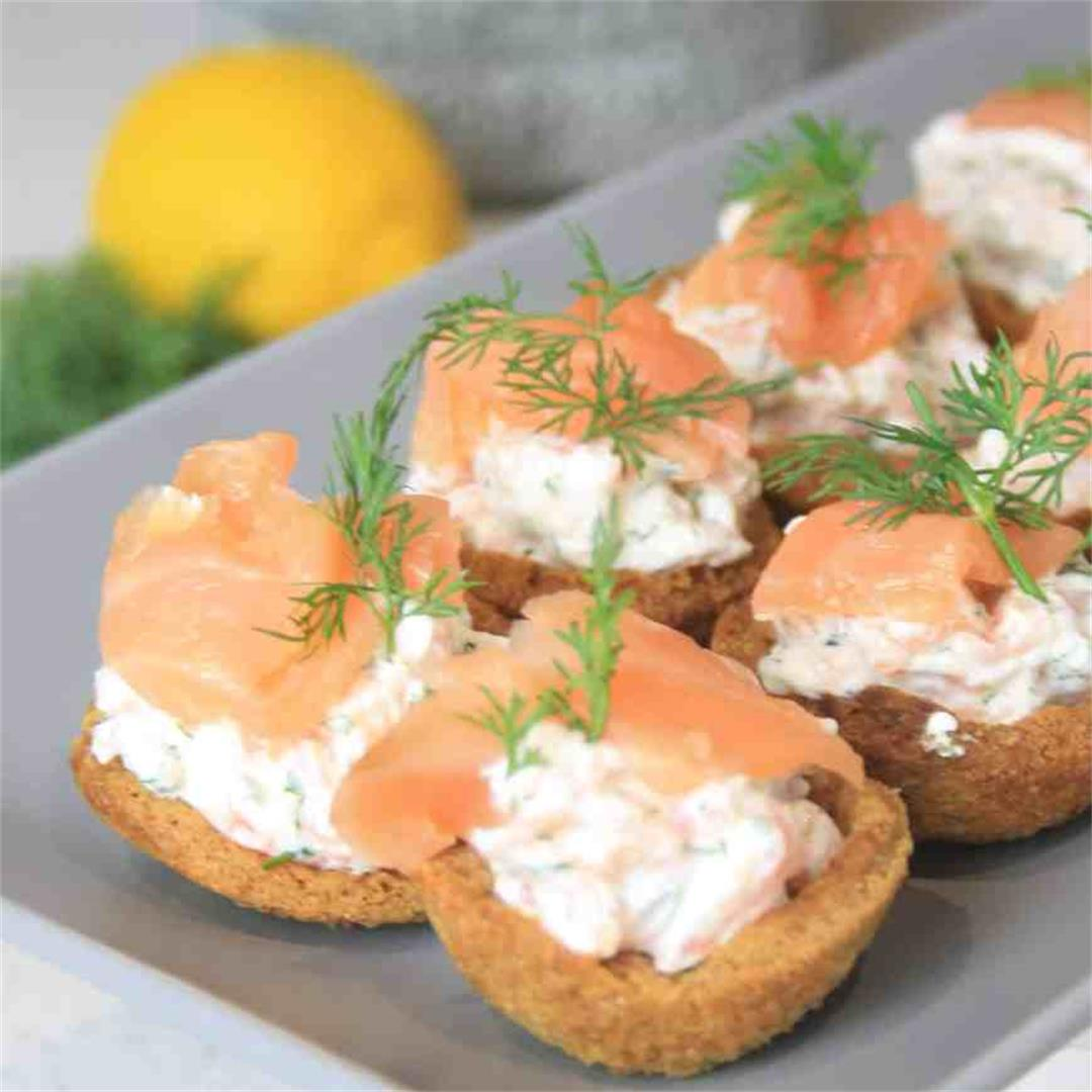 Canapés with Smoked Salmon