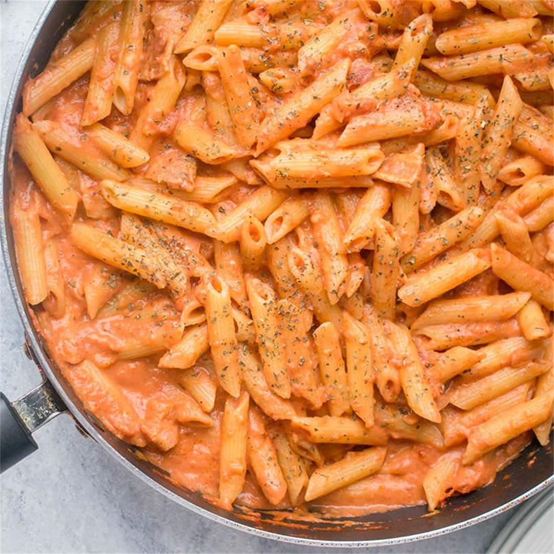 Penne alla Vodka with Bacon