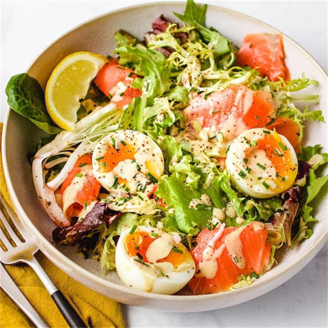 Easy Smoked Salmon Salad