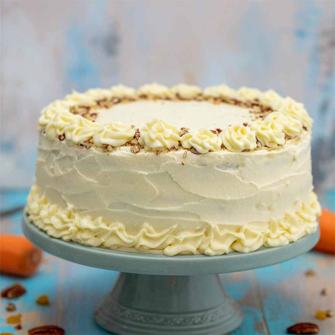 The Best Carrot Cake Recipe [video]