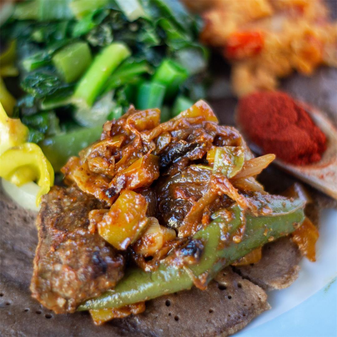 Siga Tibs (Ethiopian Beef Stew)
