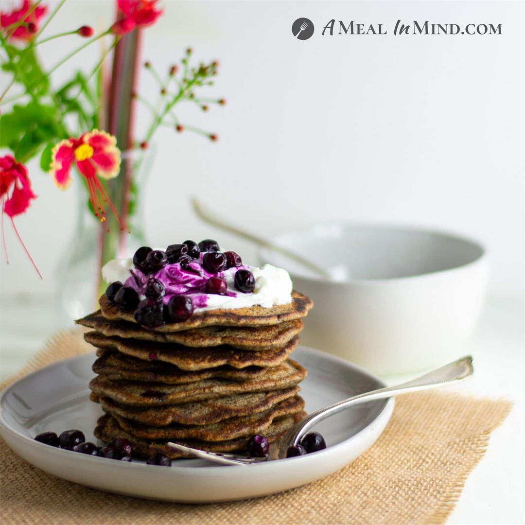 Buckwheat-Currant Pancakes