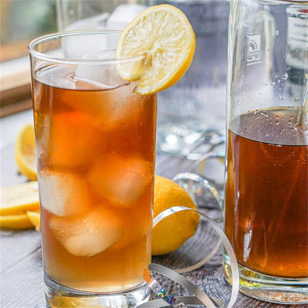 Keto Long Island Ice Tea Cocktail