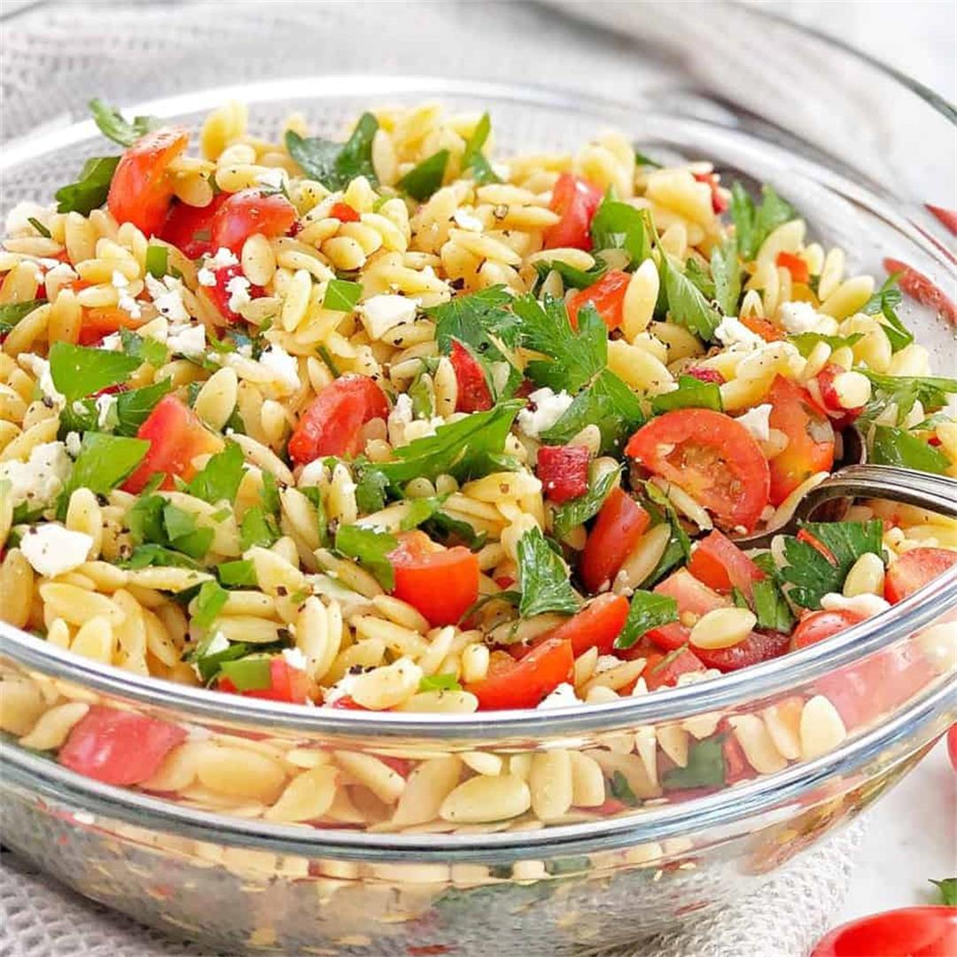 Risoni Salad