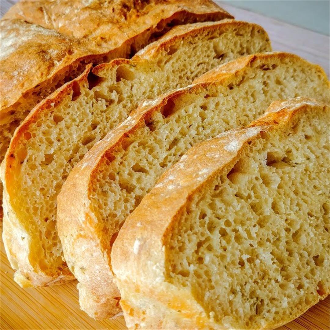 Garlic and Herbs Artisan Bread