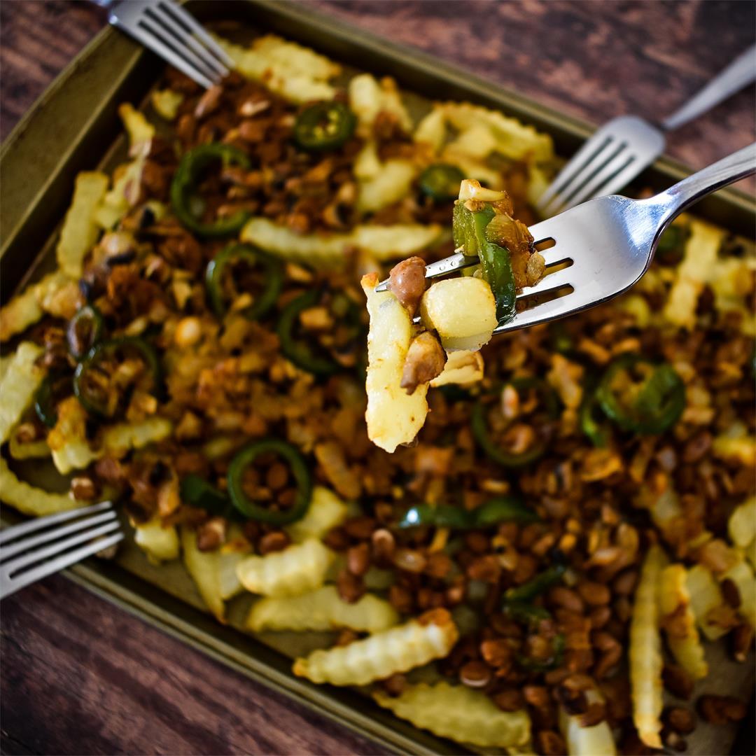 Texas Nacho Fries (Vegan)