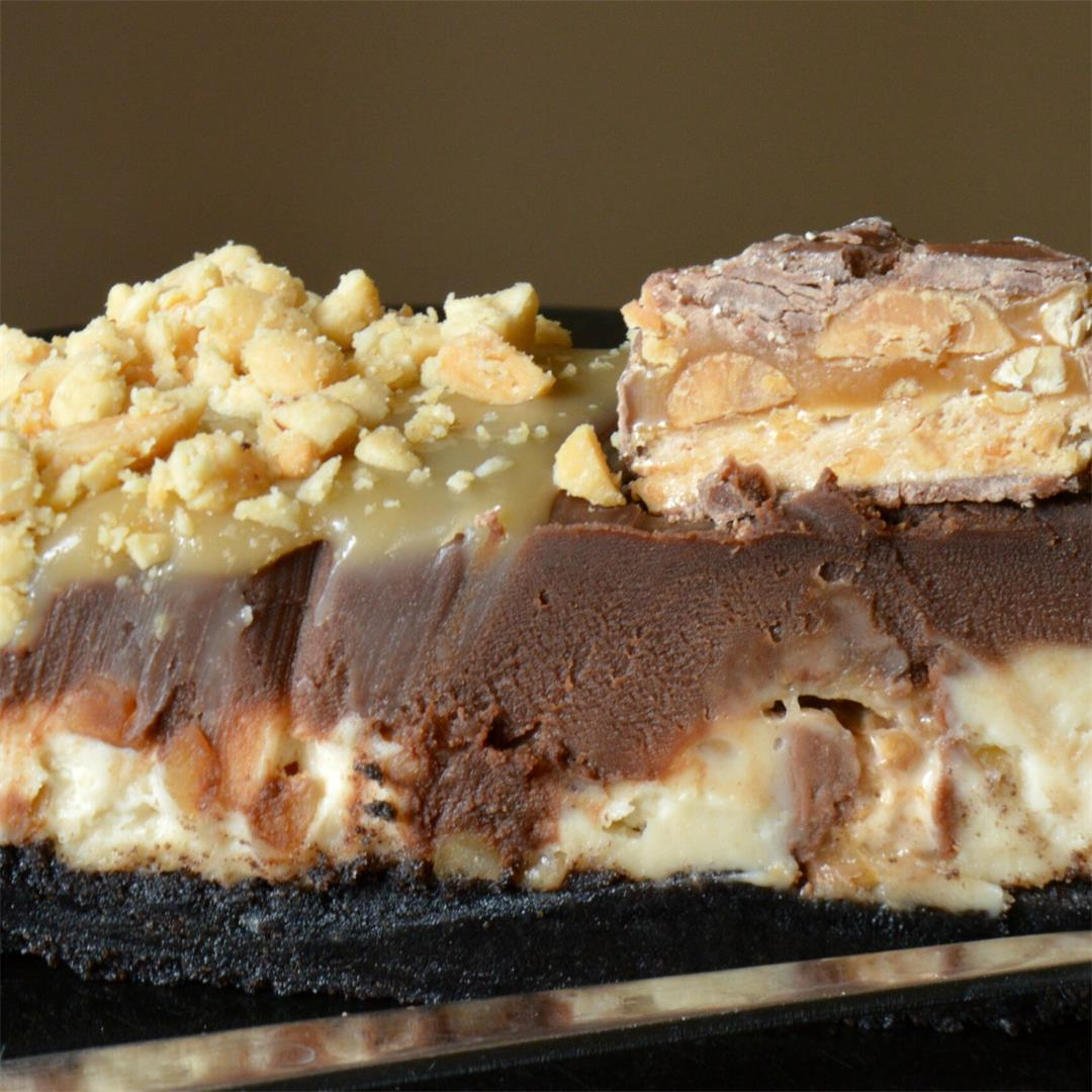 No Bake Snickers Cheesecake — Tasty Food for Busy Mums