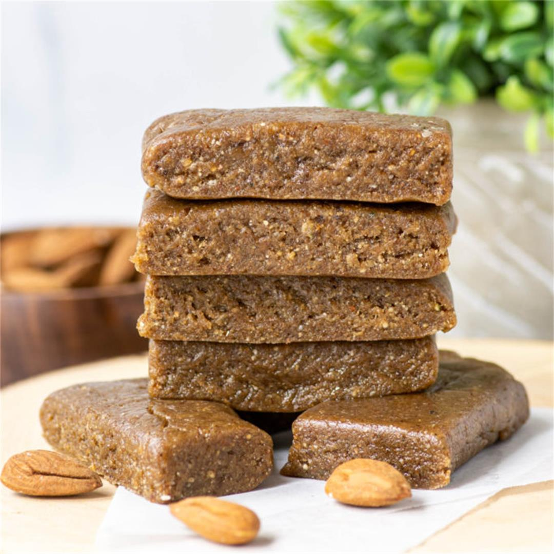 Almond Hemp Heart Bars
