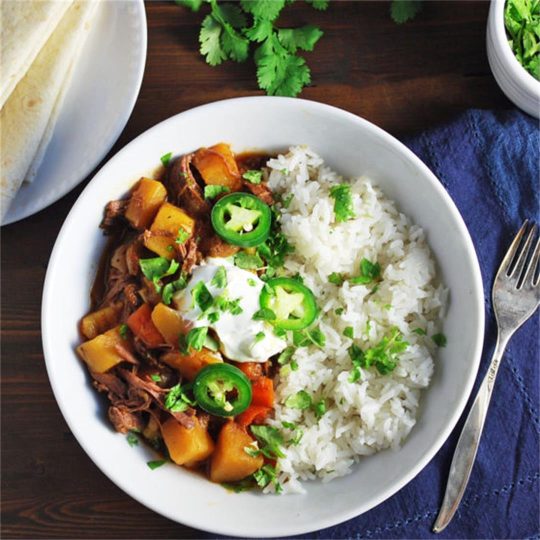 Slow Cooker Mexican Picadillo Recipe
