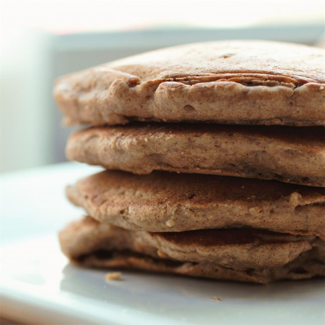 Vegan Carrot Cake Pancakes Recipe