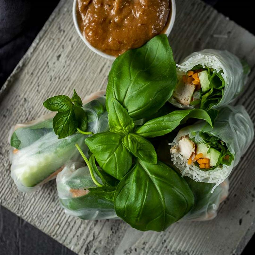 Chicken Summer Rolls