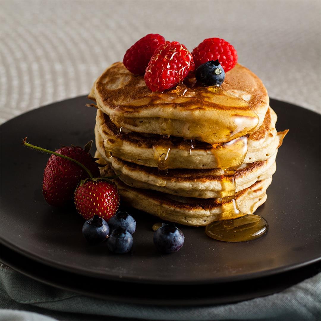 Sourdough Pancakes (American Style)