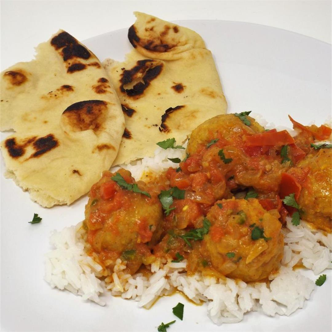 Indian Butter Chicken Meatballs