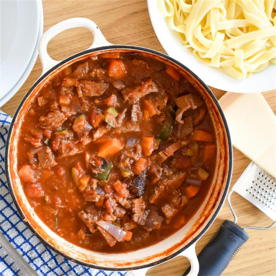 Leftover Beef Ragu • Fabulous Family Food by Donna Dundas