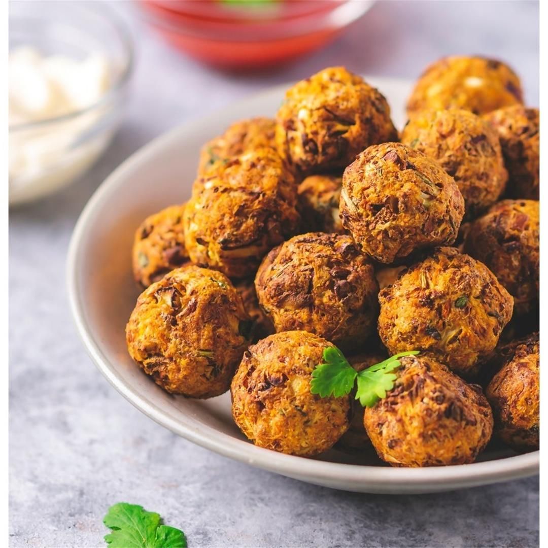 Air Fryer Cauliflower Bites