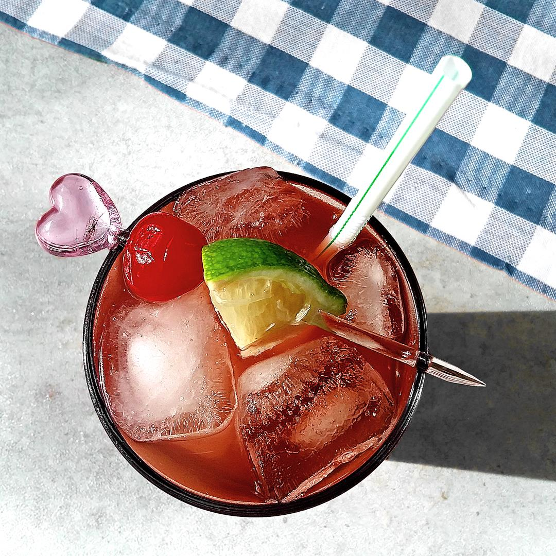 Nutty Cherry Limeade