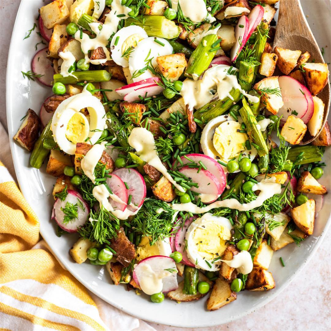 Spring Asparagus Potato Salad