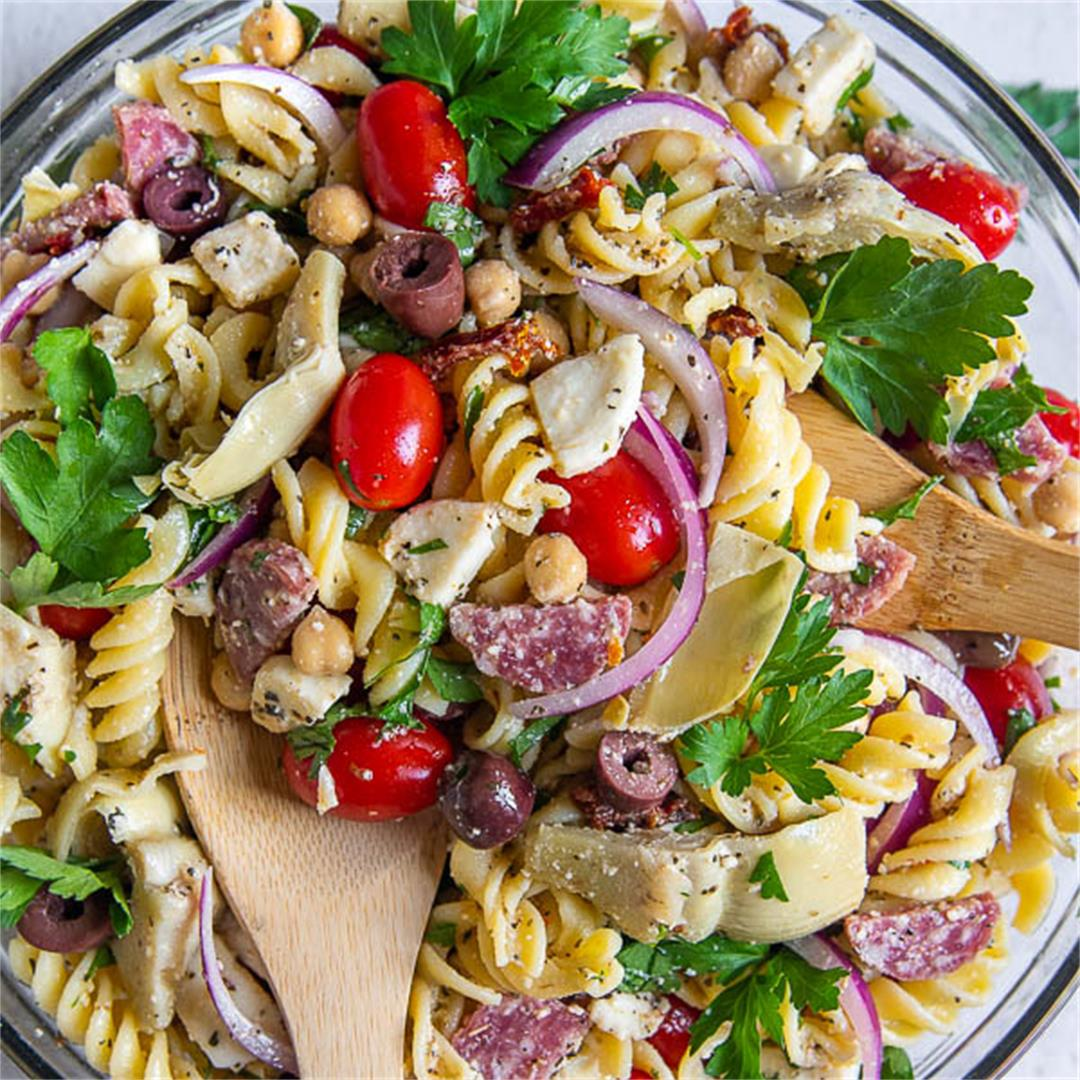 Sun Dried Tomato Pasta Salad {Gluten Free}