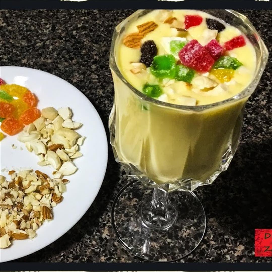 Restaurant Style Mango Lassi