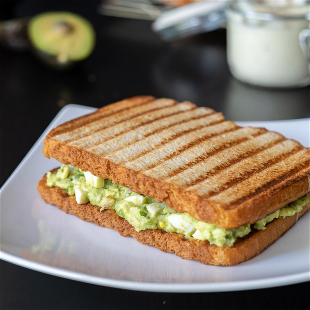 Avocado Egg Sandwich, Easy Avocado Egg Salad
