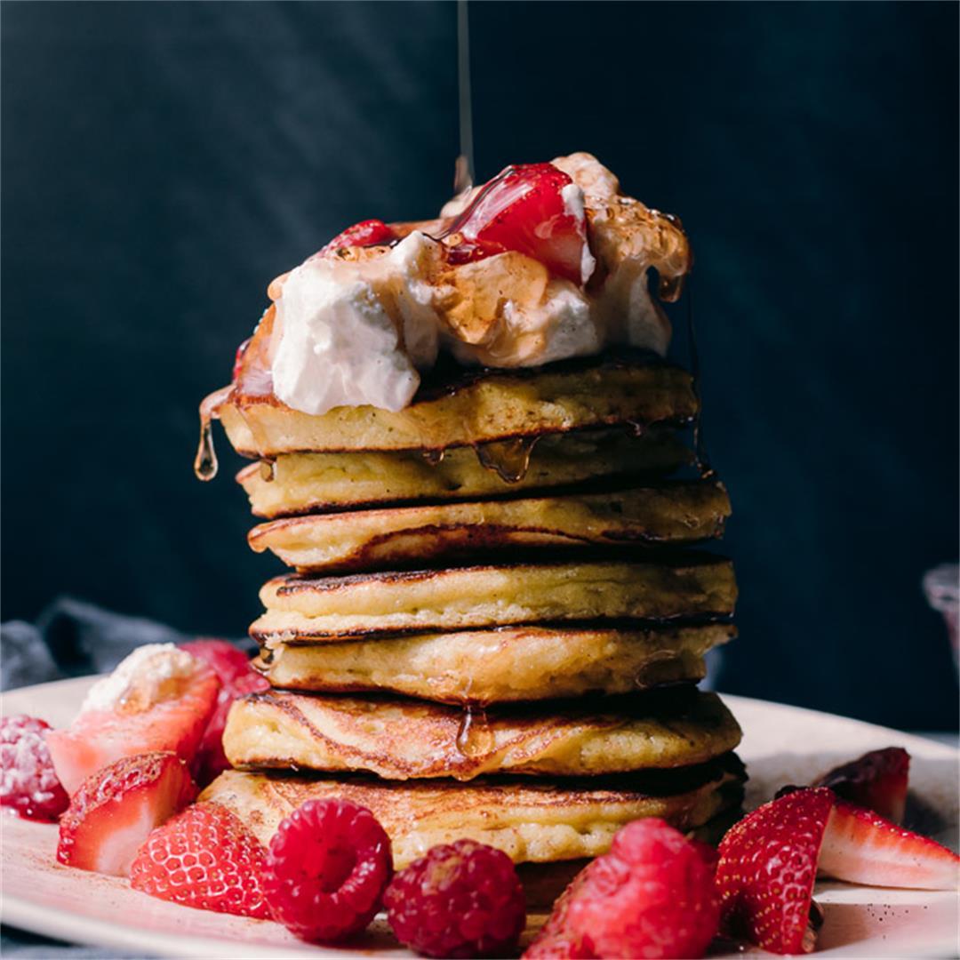 Fluffy Keto Coconut Flour Pancakes