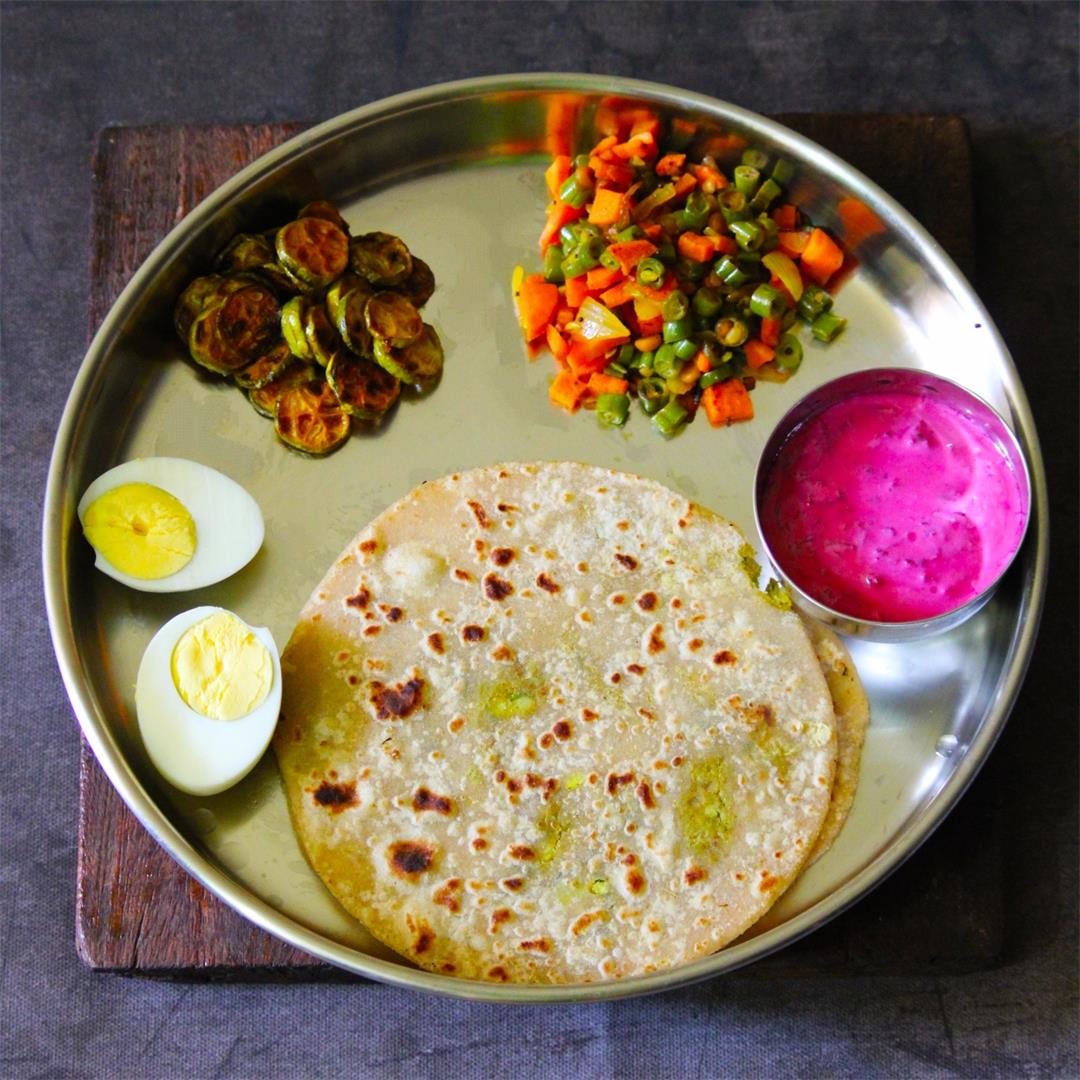 Healthy Indian Lunch Plan Series #1