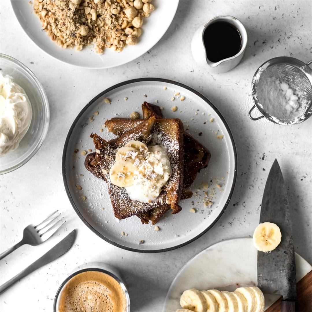 Coffee and Cinnamon French Toast