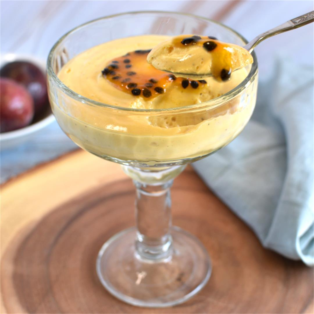 Passion Fruit Mousse