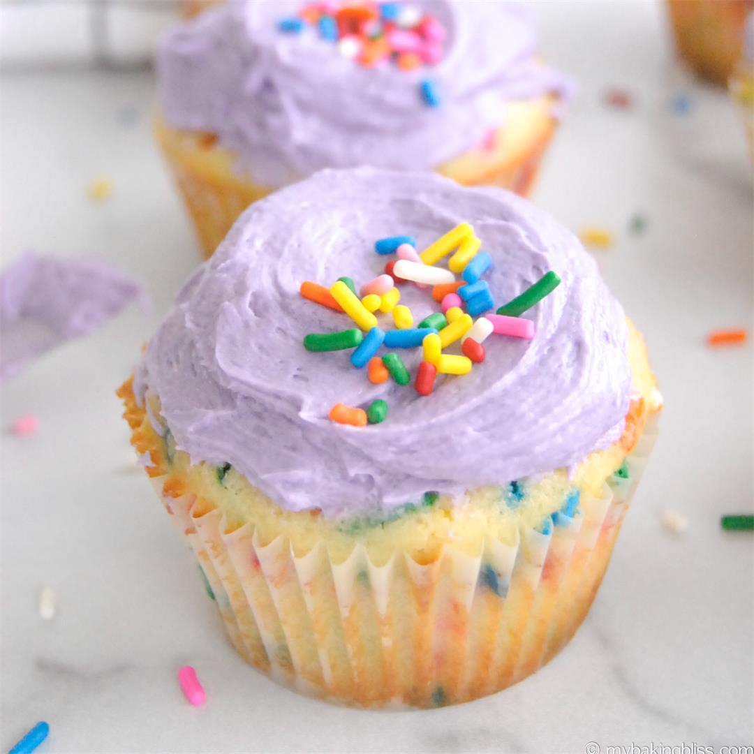 Small Batch Funfetti Cupcakes