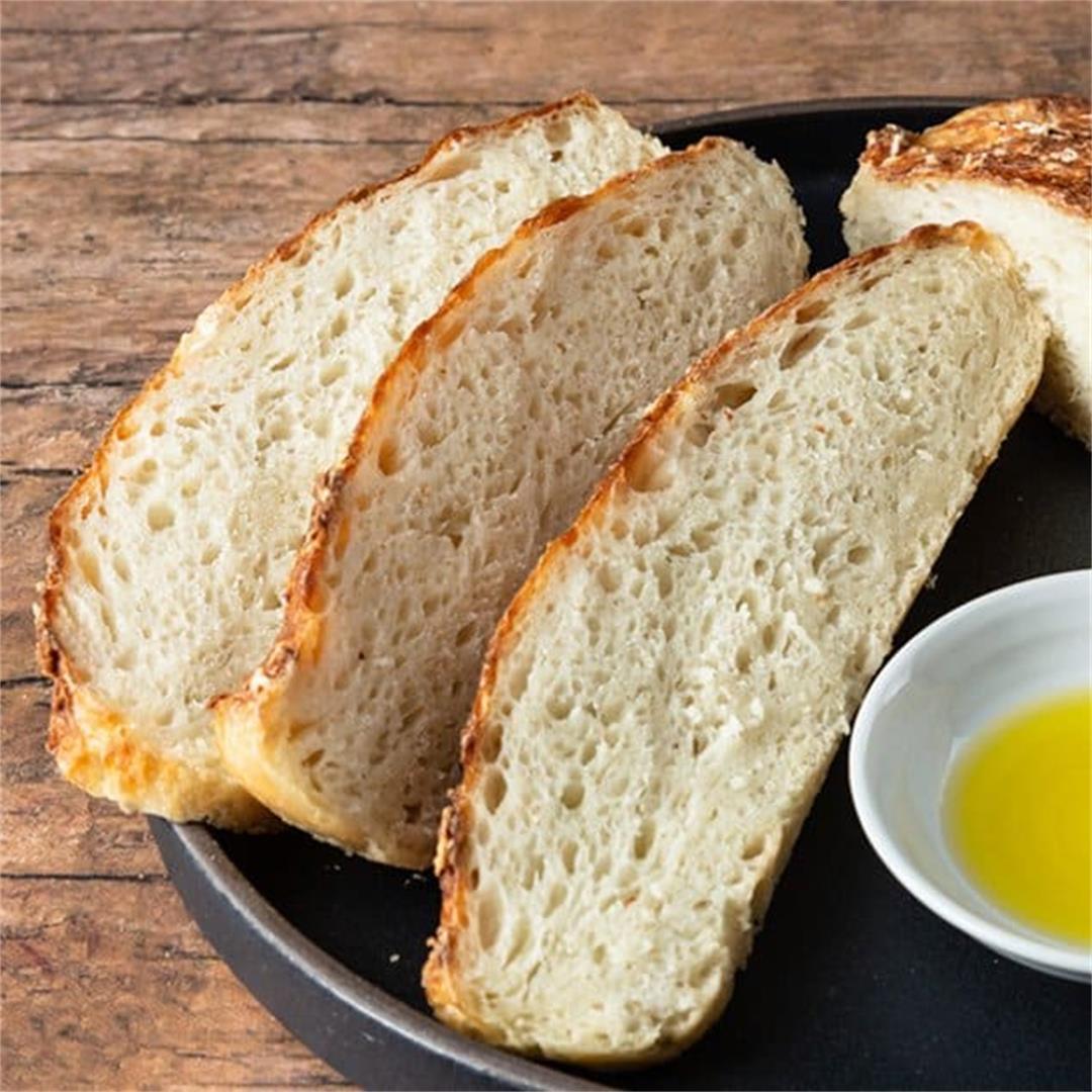 Instant Pot No-Knead Bread #15 (4 ingredients!)