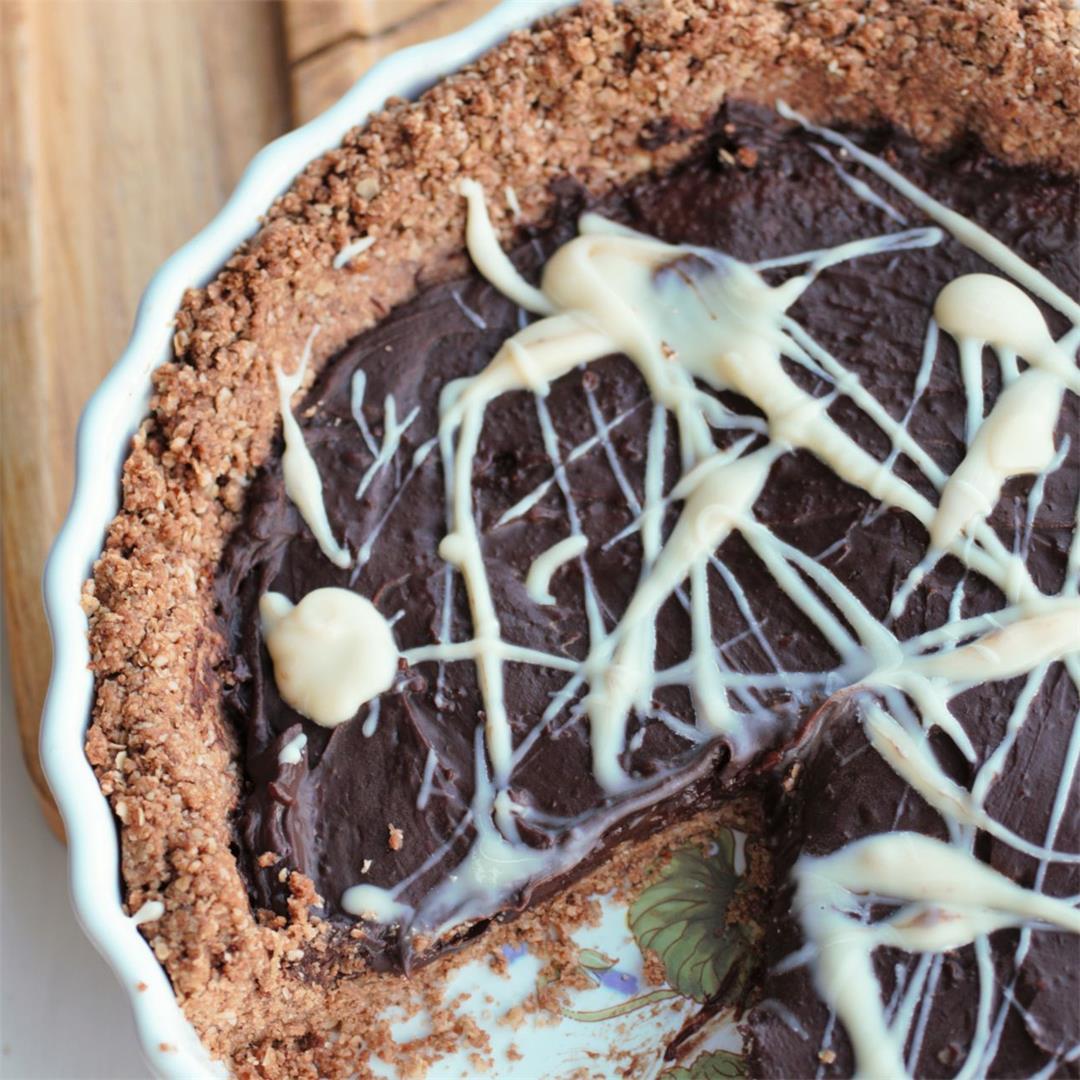 Vegan Chocolate Almond Tart Recipe