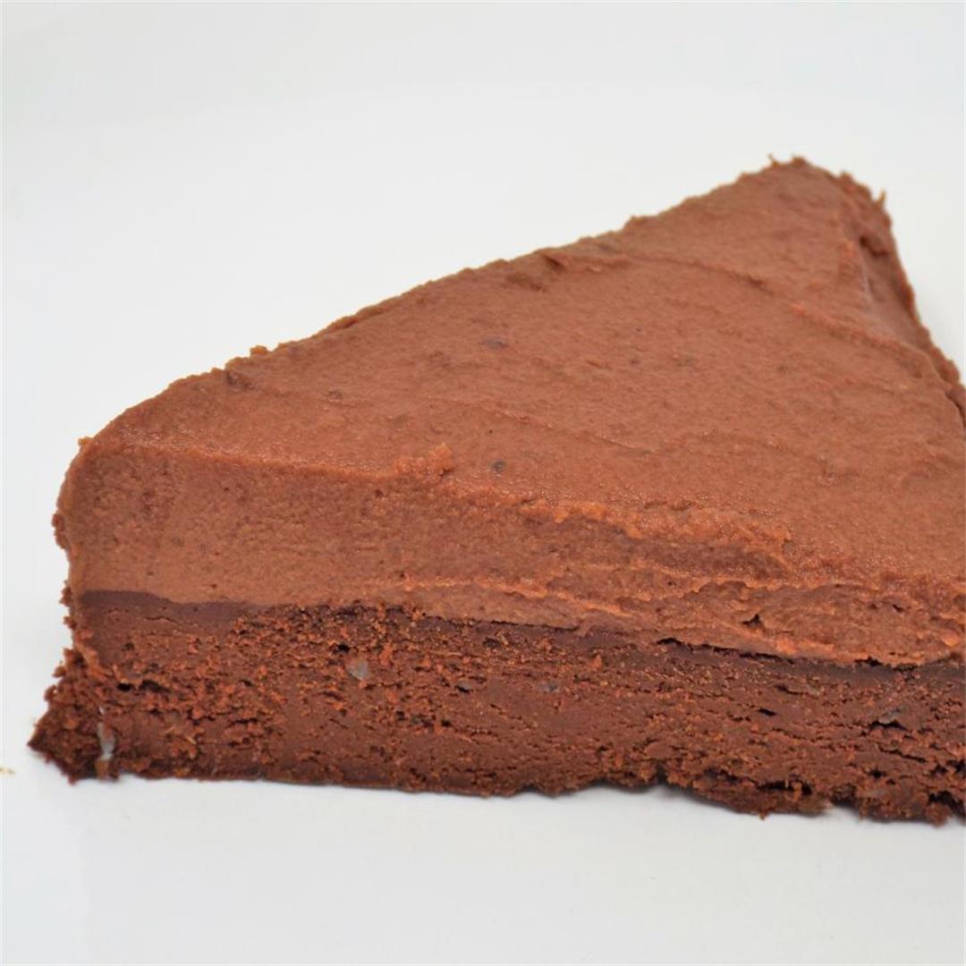 Flourless Chocolate Date Cake