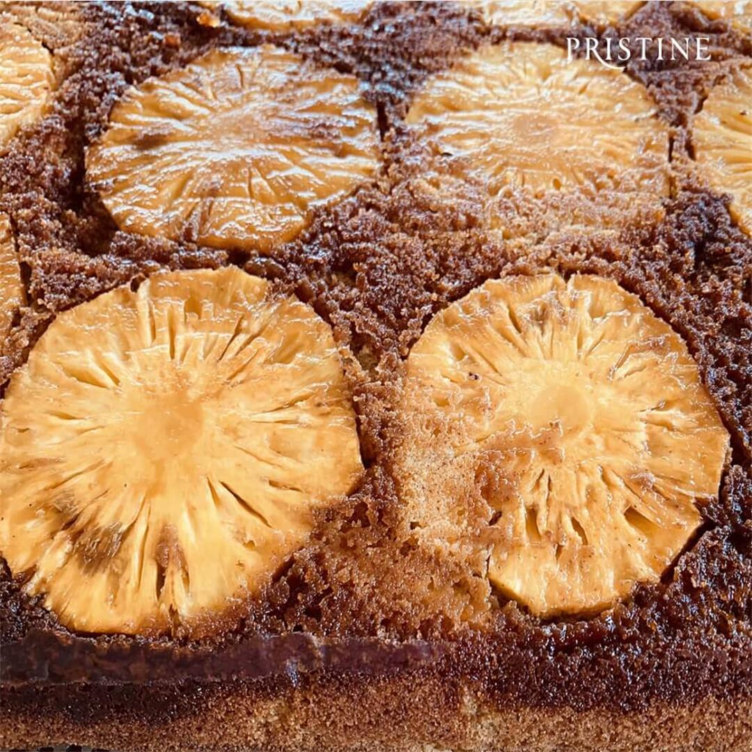 Pineapple and Millet Pound Cake