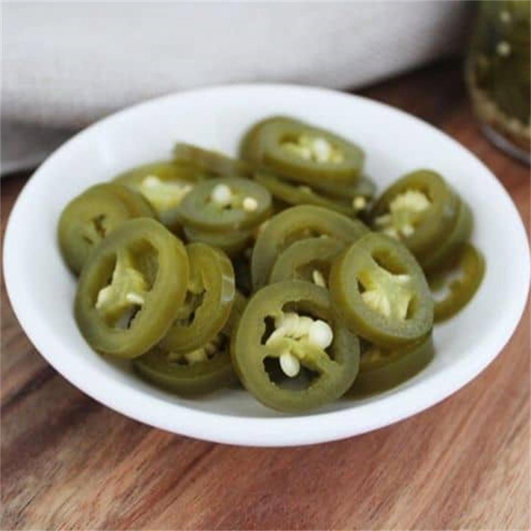 Homemade Pickled Jalapenos - It's Not Complicated Recipes