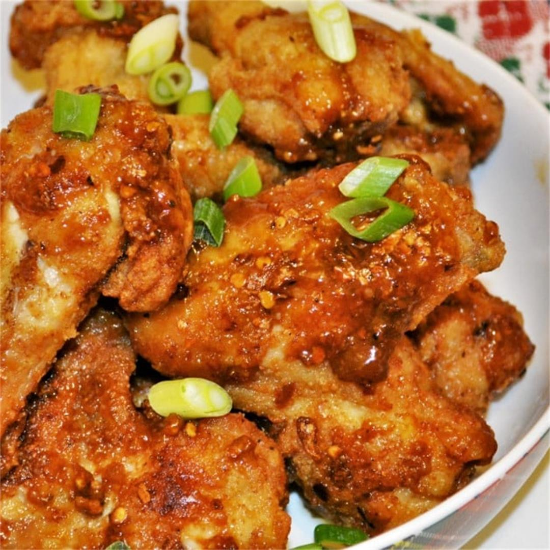 Honey and Garlic Chicken Wings Recipe-Sweet, Spicy, Sticky