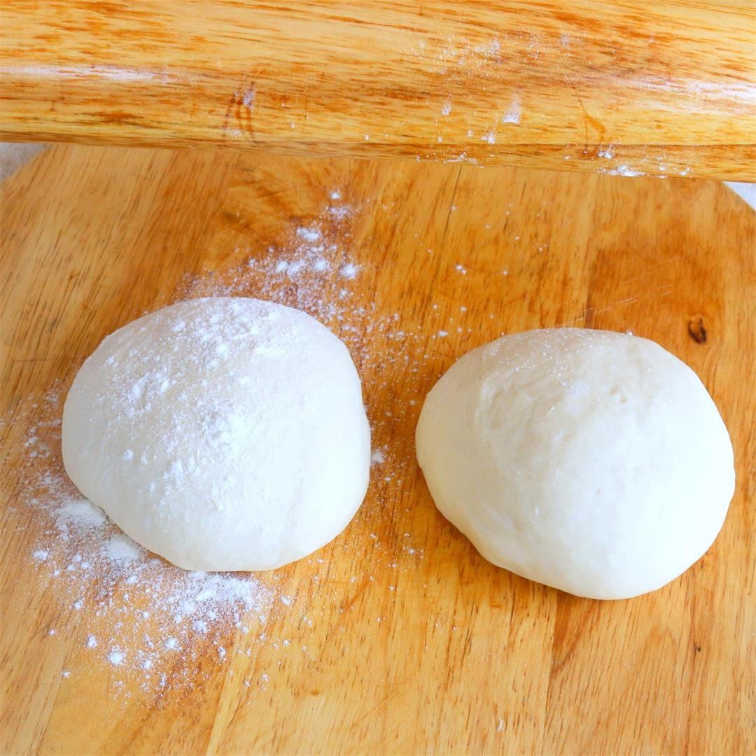Pizza Dough in 10 minutes