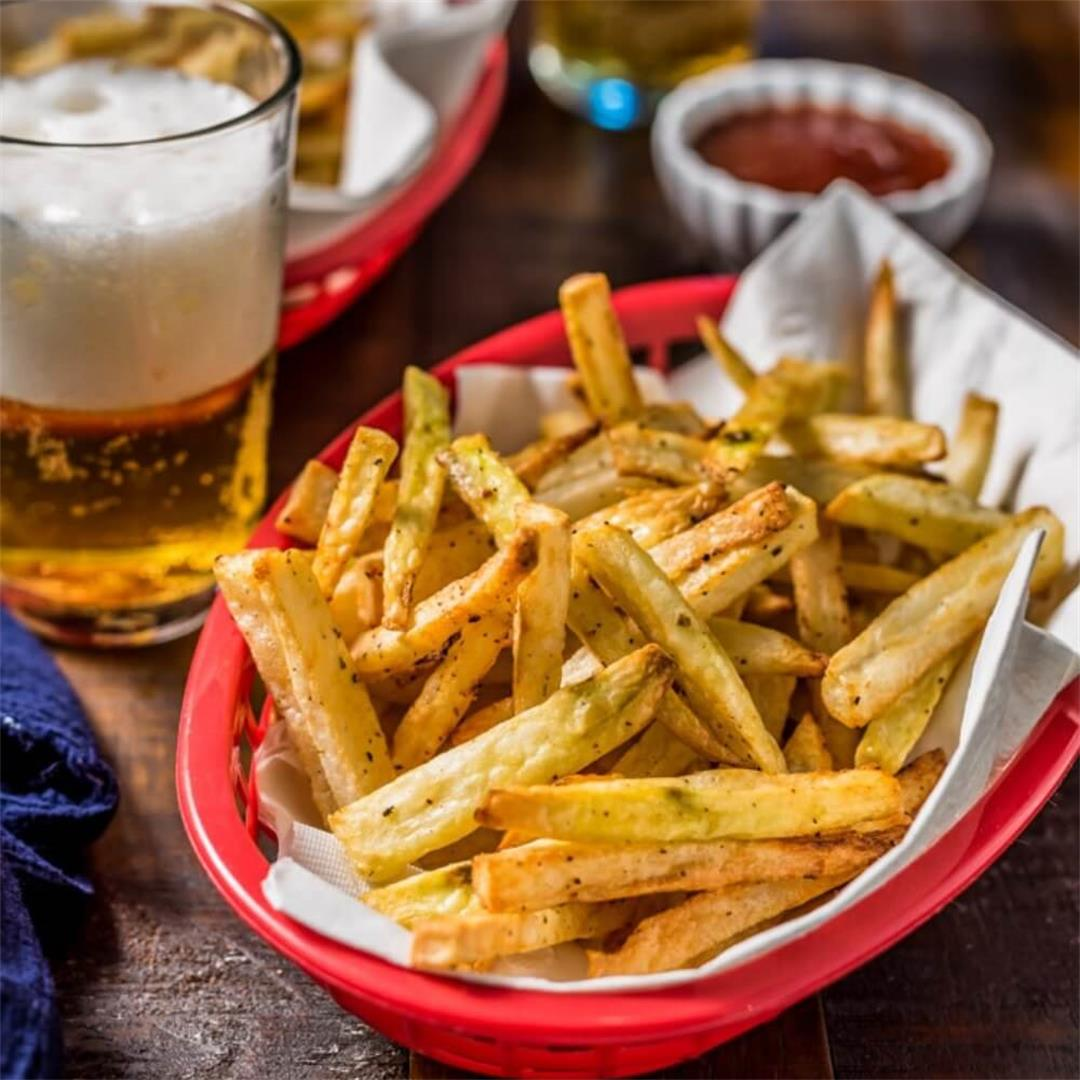 Crispy Homemade Air Fryer French Fries